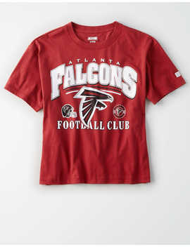 Tailgate Women's Atlanta Falcons Cropped T Shirt by American Eagle Outfitters