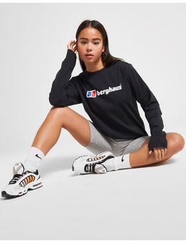 Berghaus Core Logo Long Sleeve Boyfriend T Shirt by Jd Sports