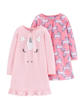 Girls 4 14 Carter's 2 Pack Nightgowns by Carters