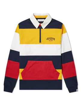 Billionaire Boys Club Stripe Rugby Top by Billionaire Boys Club