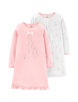 Girls' 4 14 Carter's 2 Pack Ballet Nightgowns by Carters