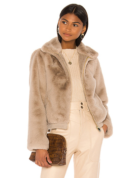 Nancy Jacket In Taupe by Song Of Style