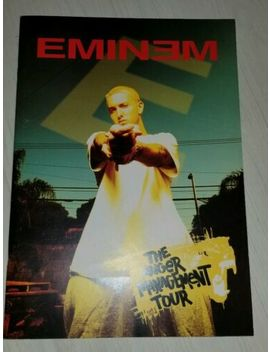Vintage Eminem Anger Management Tour Program Book by Eminem