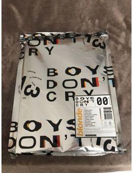 Boys Don't Cry Magazine Album Blonde Frank Ocean Shower Cover Bn Sealed Freeship by Ebay Seller