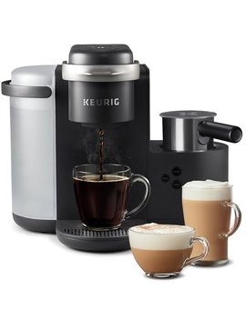 6 Cups Charcoal Gray Keurig K Cafe, Single Serve K Cup Pod Coffee, Latte, & Cappuccino Maker (Part Number: 5000201735) by Wayfair