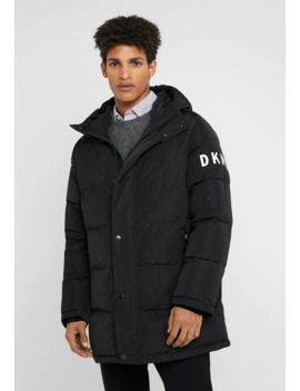 Hooded Logo Puffer   Winter Coat by Dkny