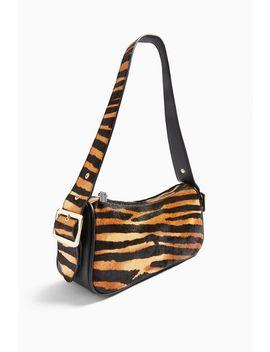 Slick Tiger Print Shoulder Bag by Topshop