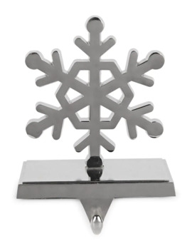 Winter's Eve Snowflake Metal Ornament by Glucksteinhome