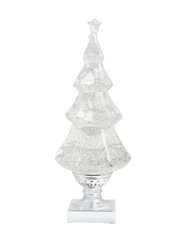 Swirling Glitter Tree Led Decoration by Fao Schwarz