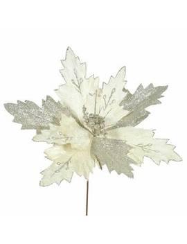Poinsettia Decorative Christmas Flower by Wayfair