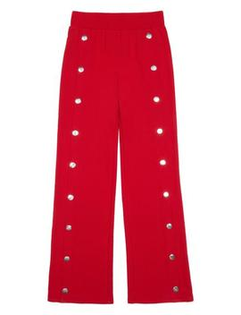 Girls Studded French Terry Pants by Bebe