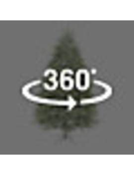 Ge 7.5 Ft Pre Lit Oakmont Spruce Artificial Christmas Tree With 600 Multi Function Color Changing Warm White Led Lights by Lowe's
