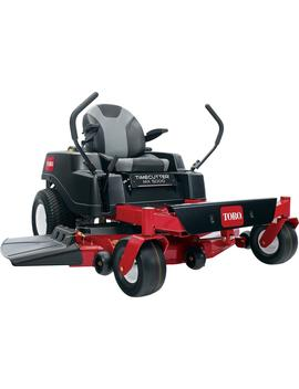 Time Cutter Mx5000 50 In. Fabricated Deck 24 Hp Kohler Commercial V Twin Gas Dual Hydrostatic Zero Turn Riding Mower by Toro