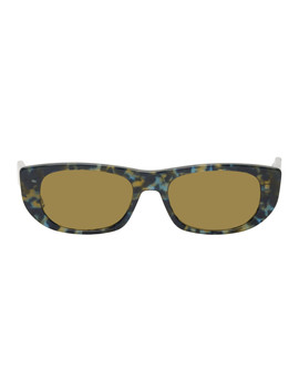 Tortoiseshell Tbs417 Sunglasses by Thom Browne