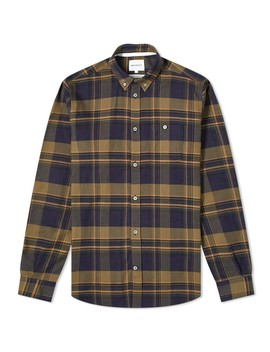 Norse Projects Anton Brushed Flannel Check Shirt by Norse Projects