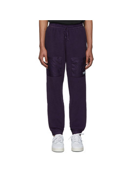 Purple Vocal Track Pants by Adidas Originals