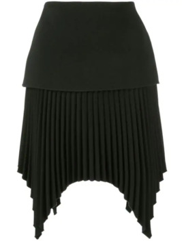 Pleated Mini Skirt by Dion Lee