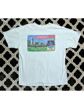 Vtg 90s Cornell University Alumni Federation Visa Credit Card White T Shirt Xl by First Usa