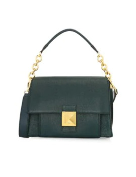 Small Diva Leather Shoulder Bag by Furla