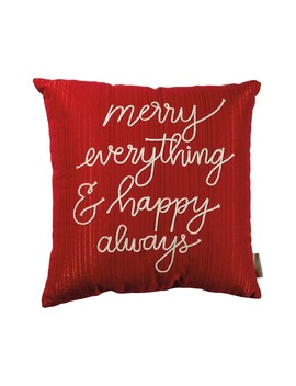 Merry Everything Accent Pillow by Primitives By Kathy