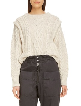 Tayle Cable Knit Sweater by Isabel Marant Étoile