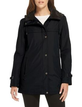 Hooded Rain Jacket by Weatherproof