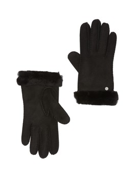 Genuine Dyed Shearling Slim Side Vent Gloves by Ugg