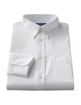 Men's Croft & Barrow® Classic Fit Easy Care Button Down Collar Dress Shirt by Croft & Barrow