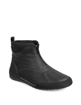 Bowman Top Waterproof Leather Boots by Collection By Clarks