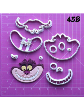 Popular Film Alice In Wonderland Character Cookie Cutter Custom Made 3 D Printed Cookie Cutter Cake Baking Tools Cookie Molds by Ali Express.Com