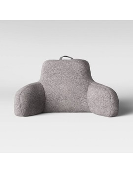 Sherpa Bed Rest Pillow   Room Essentials™ by Room Essentials
