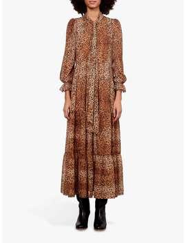 Gerard Darel Dayana Leopard Print Dress, Brown by Gerard Darel