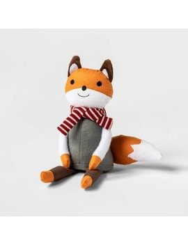 """14"""" Harvest Sitting Fox Fabric Figure   Spritz™ by Shop This Collection"""