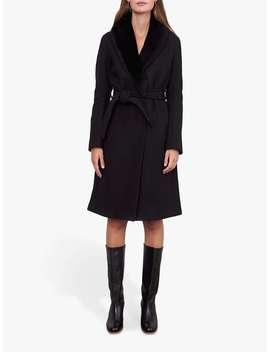 Gerard Darel Paxton Belted Wool Coat by Gerard Darel
