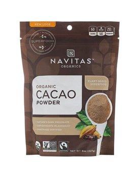Navitas Organics, Organic Cacao Powder, 8 Oz (227 G) by Navitas Organics