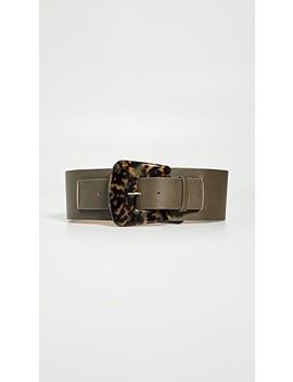 Cece Waist Tortoise Belt by B Low The Belt