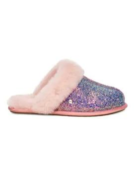 Scuffette Ii Cosmos Glitter & Sheepskin Slippers by Ugg