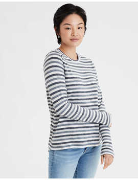 Ae Soft &Amp; Sexy Plush Long Sleeve T Shirt by American Eagle Outfitters