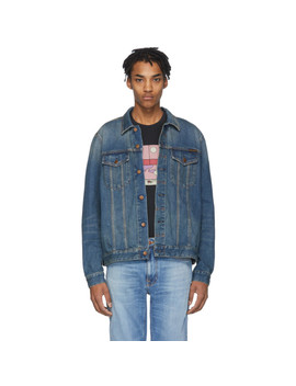 Blue Denim Jerry Jacket by Nudie Jeans
