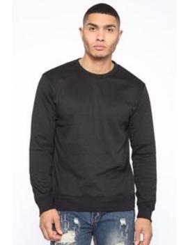 Christian Sweater   Black by Fashion Nova