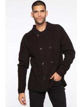 Wesley Cardigan Sweater   Black by Fashion Nova