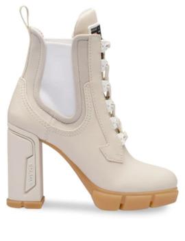 Ridged Sole Boots by Prada