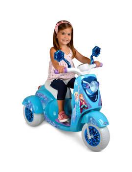 6 V Disney Frozen 3 Wheel Scooter Ride On by Frozen