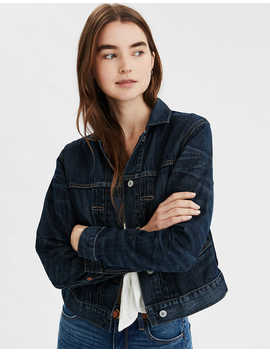 Ae 50's Denim Jacket by American Eagle Outfitters
