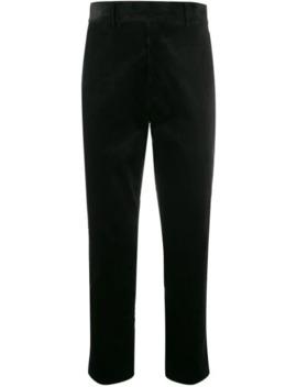 Corduroy Straight Trousers by Haider Ackermann