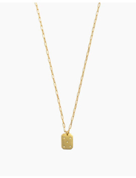 Twinkle Pavé Pendant Necklace by Madewell