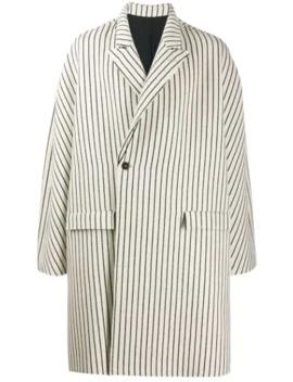 Striped Oversized Coat by Haider Ackermann