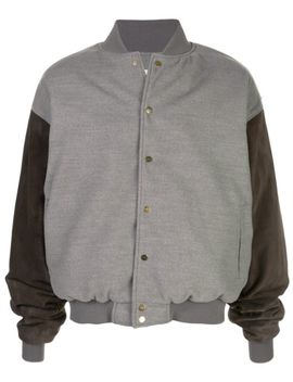 Contrast Bomber Jacket by Fear Of God