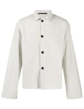 Striped Cropped Shirt by Haider Ackermann