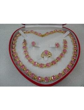 Xd J00200 Beautiful Women's Jewelry Set Necklace Bracelet Ring Earring by Ali Express.Com